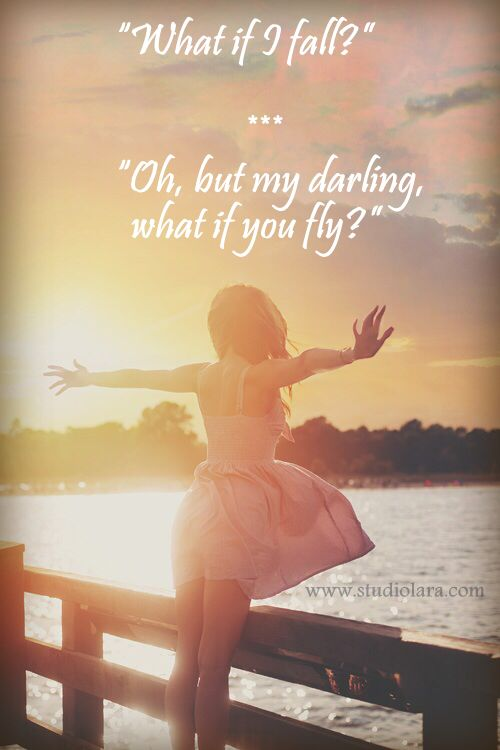 """Fear, Falling & Flying"""